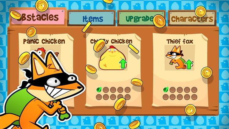 Chicken Toss - Chickens on the Run