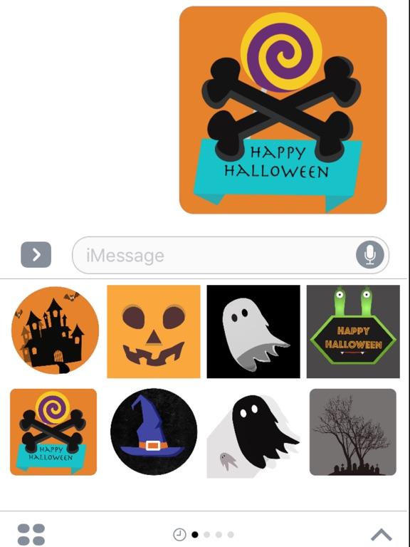 Screenshot #1 for Halloween Stickers - Pack ...