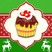 Christmas Muffins Holiday Cupcakes app review