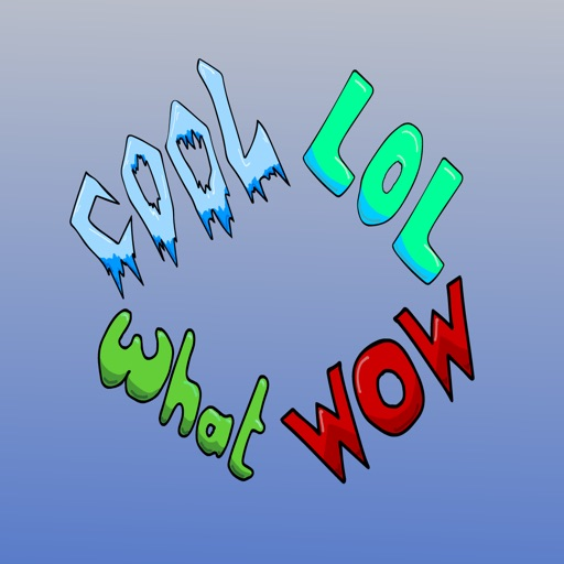 Animated Words Sticker Pack