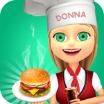 Airplane Kitchen Fast Food Fever Cooking Games