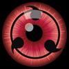 Sharingan Eyes - 写輪眼 眼睛照片编辑器:从火影忍者鸣人佐助版的眼睛