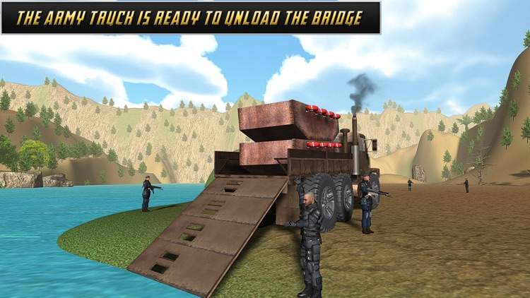 American Army Bridge Builder screenshot-3