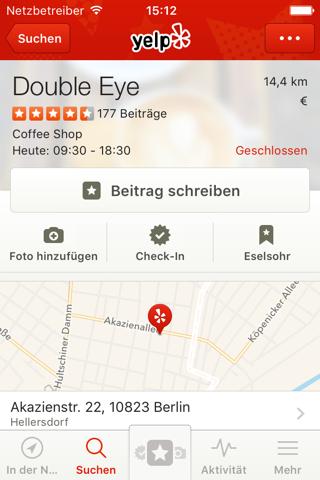 Yelp: Discover Local Favorites screenshot 3