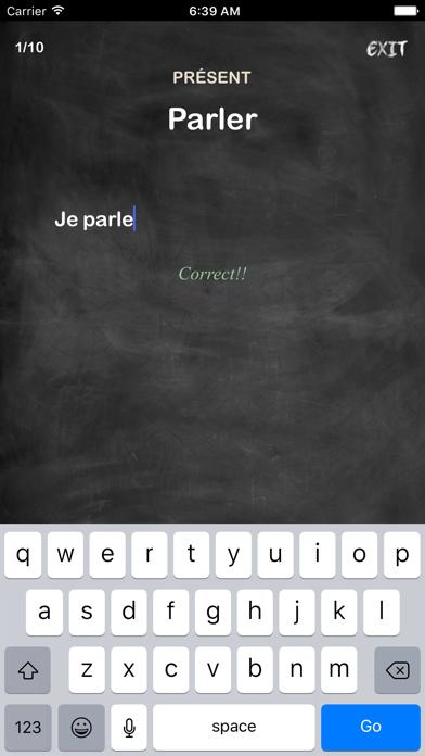 Conjugation Nation French review screenshots