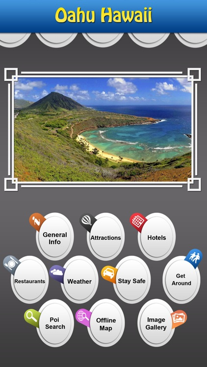 Oahu Hawaii Island Offline Guide