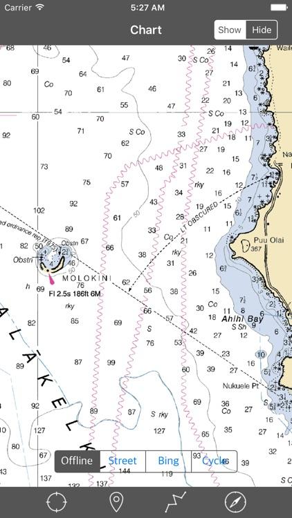 Maui – Raster Nautical Charts screenshot-4