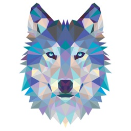 Wolf Stickers For iMessage
