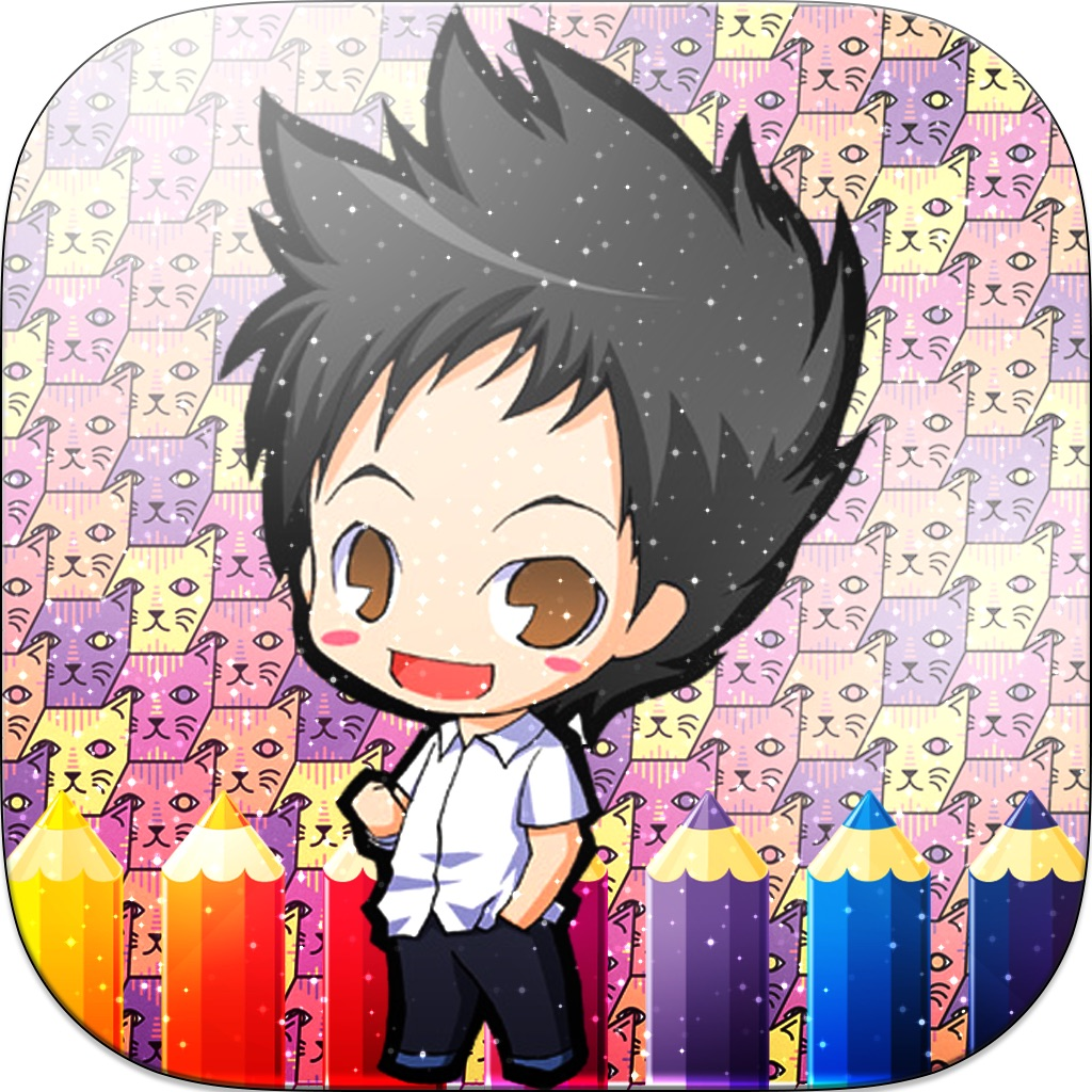 Anime Coloring Book - Paint Draw Anime Cartoon hack