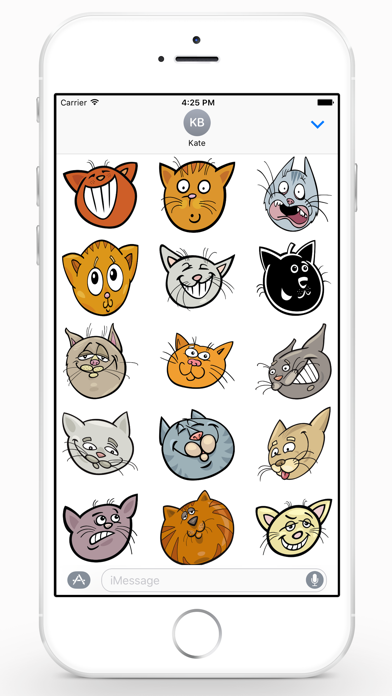 CatMoji Sticker Pack screenshot three