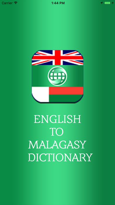 English To Malagasy Dictionary Offline screenshot one