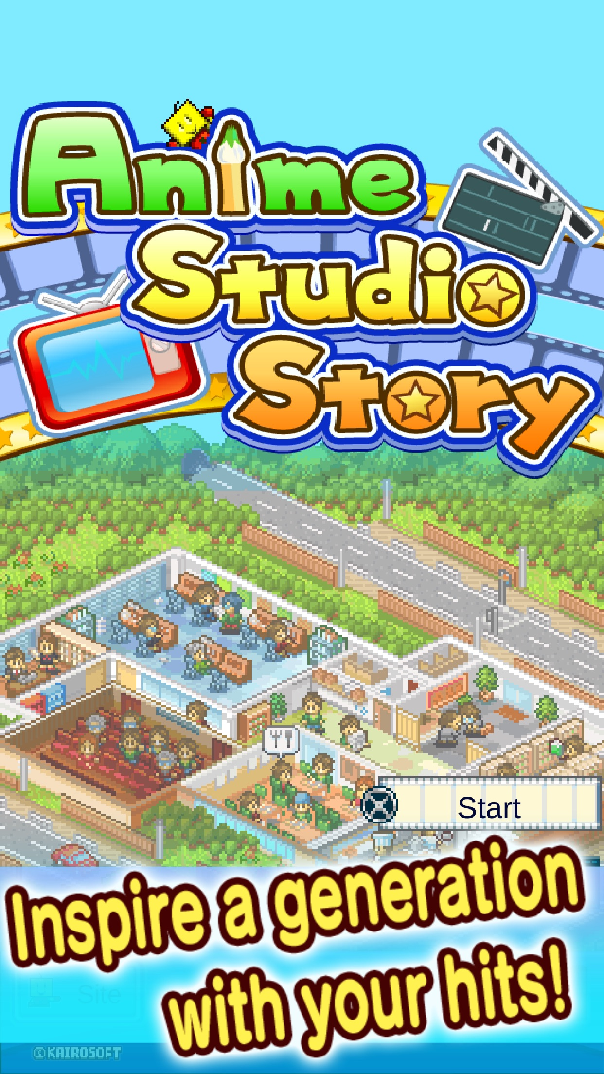 Screenshot do app Anime Studio Story