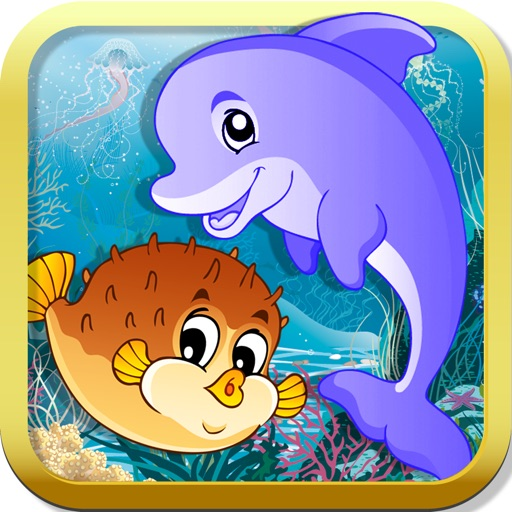 Ocean Puzzle for kids & toddlers (Premium)