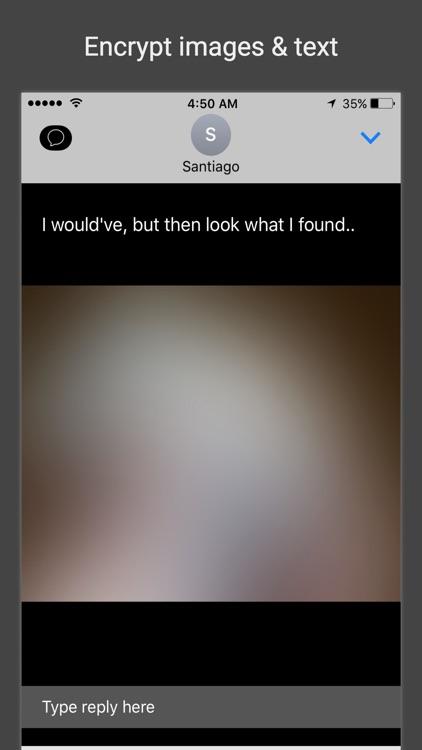 Black SMS - Protected Texts screenshot-4