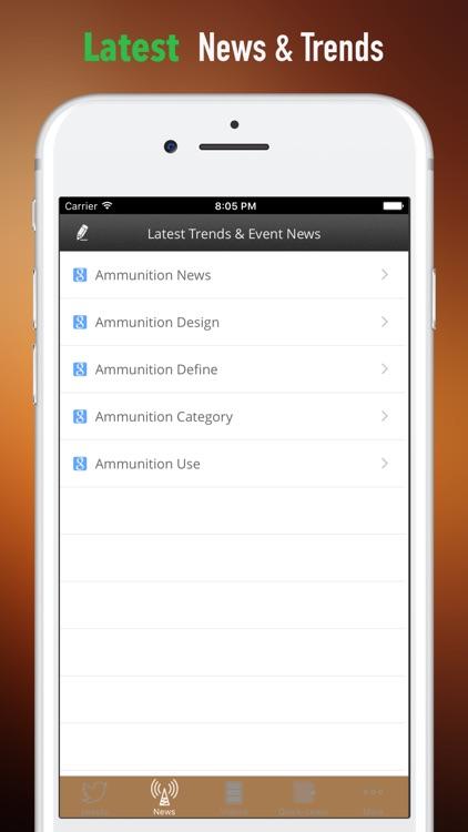 Ammo 101- Beginner Guide on Ammunition With News screenshot-3