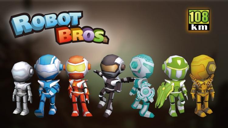 Robot Bros Free screenshot-0