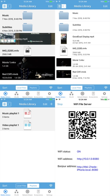 PowerAV Media Player Pro-Wireless Streaming & More screenshot-3