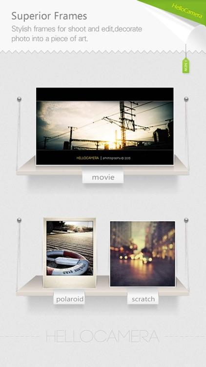 Camera360 Concept - HelloCamera screenshot-3