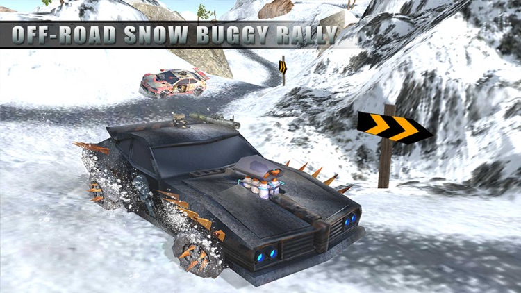 Buggy Death Racing Car Driver: Winter Rally Race screenshot-3
