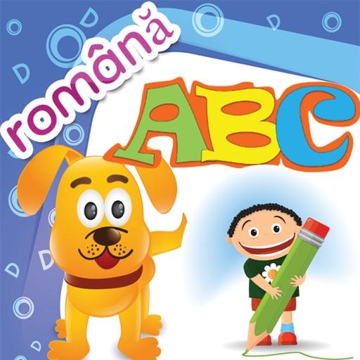 Copii joc de învățare - Română - Romanian abc