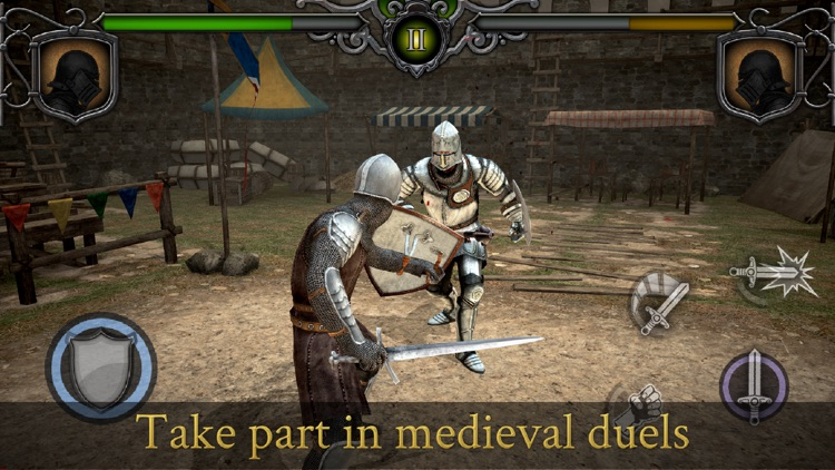 Knights Fight: Medieval Arena screenshot-0