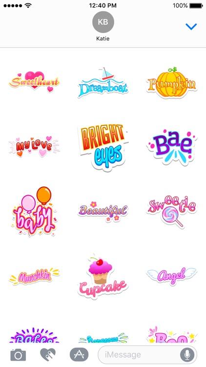 Honey Stickers screenshot-3