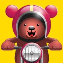 Excite Bear - Animal Bikers