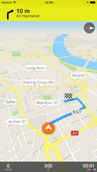 Screenshot of Magonza Mappa Offline e Guida Turistica1