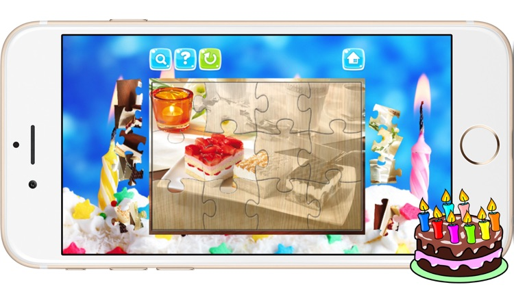 Cake Jigsaw Puzzles for Baby Kids and Toddlers screenshot-4