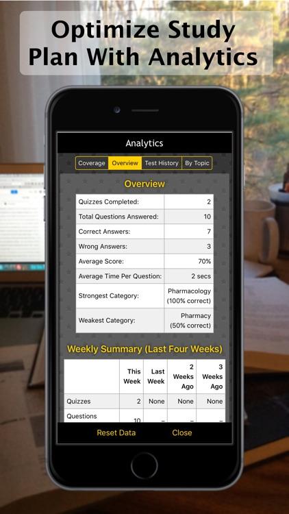 Pharmacy LANGE Q&A screenshot-3