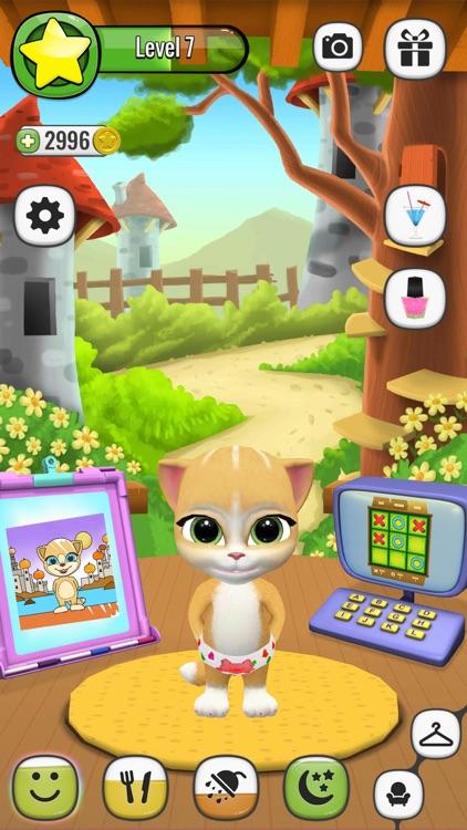 Emma The Cat - Virtual Pet Games for Kids screenshot-4