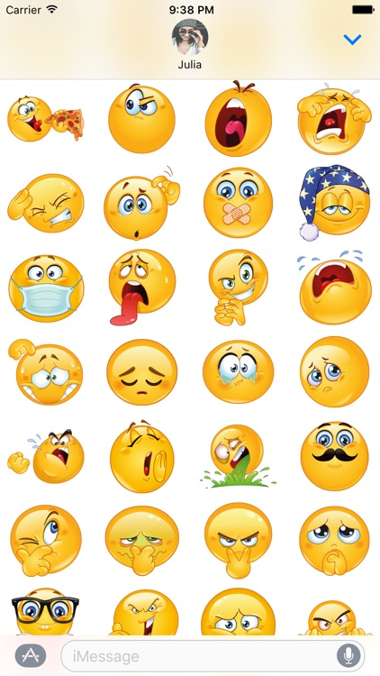 Funny Emojis Ultrapack for iMessage