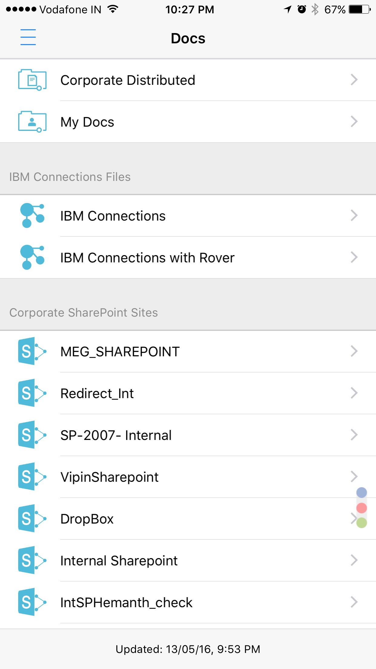 MaaS360 for iOS Screenshot