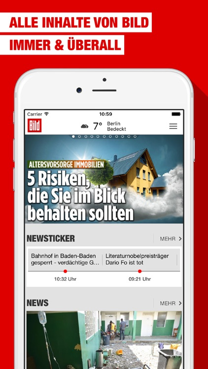 BILD News App screenshot-0