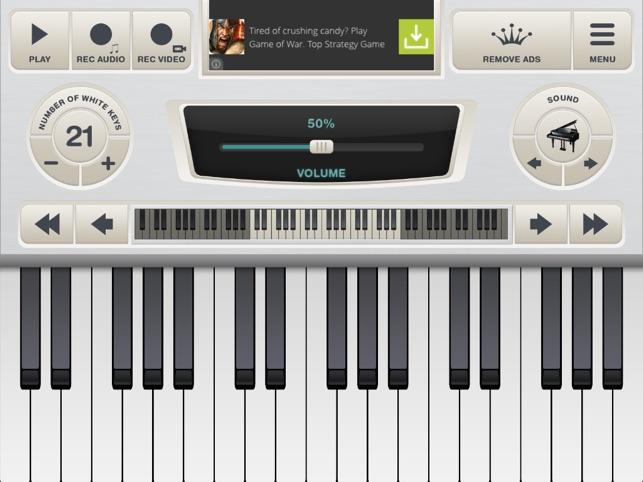 Teclado Piano Virtual Na App Store