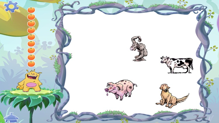 Learn the animals - Buddy's ABA Apps