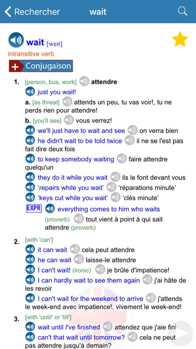 Dictionnaire Anglais/Françaisのおすすめ画像4