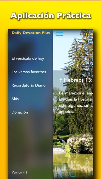 Oraciones Biblicas Diarias – Evangelio Devoción screenshot-4
