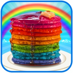 Rainbow Pancake Maker - Colorful Pancakes Tower