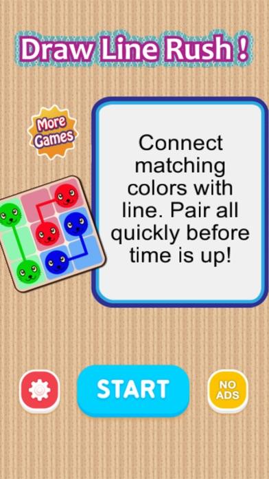 Draw Line Rush ! Screenshot on iOS