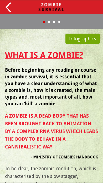Haynes Zombie Survival Manual screenshot four