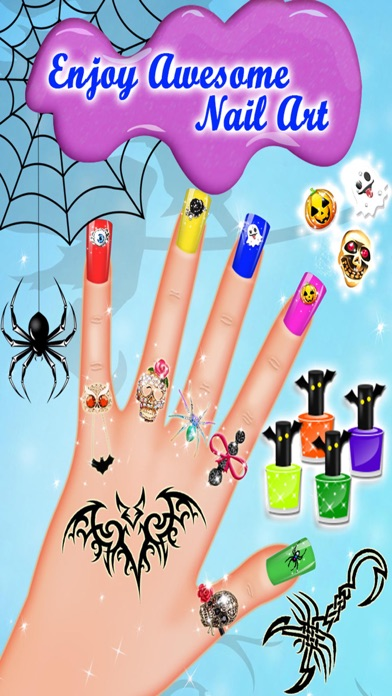 Monster Nail Salon - Halloween Girls Nail Art screenshot four