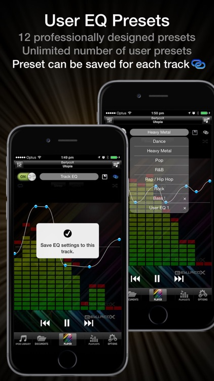 Equalizer Pro - FLAC, OGG, MP3 Player with Best EQ screenshot-3