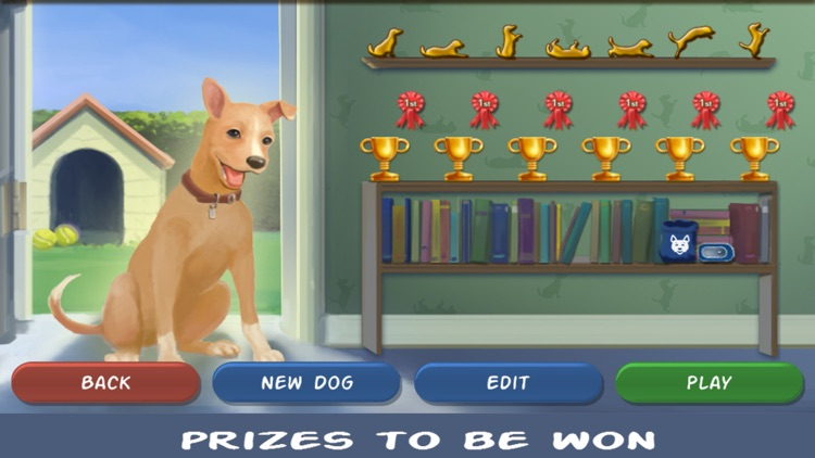 Clickety Dog at Pet School