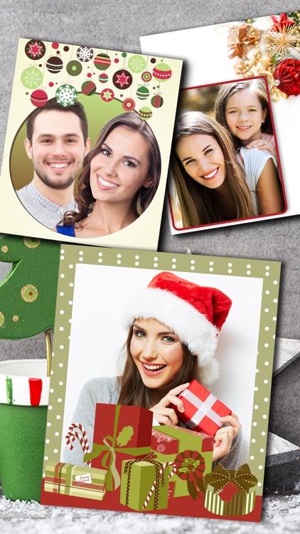 Christmas Photo Frames Album & Collage 2016 – Pro screenshot-3