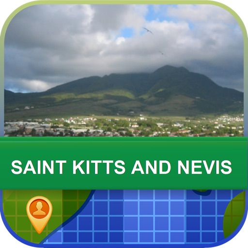 Saint Kitts and Nevis Map - World Offline Maps