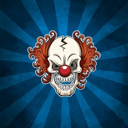 Creepy Clown Stickers