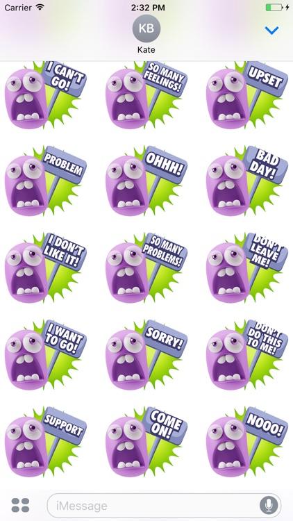 3D Sad Expressions