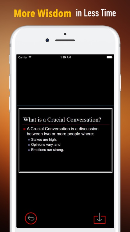 Practical Guide for Crucial Conversations Tools screenshot-0