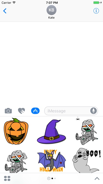 Boo! Stickers